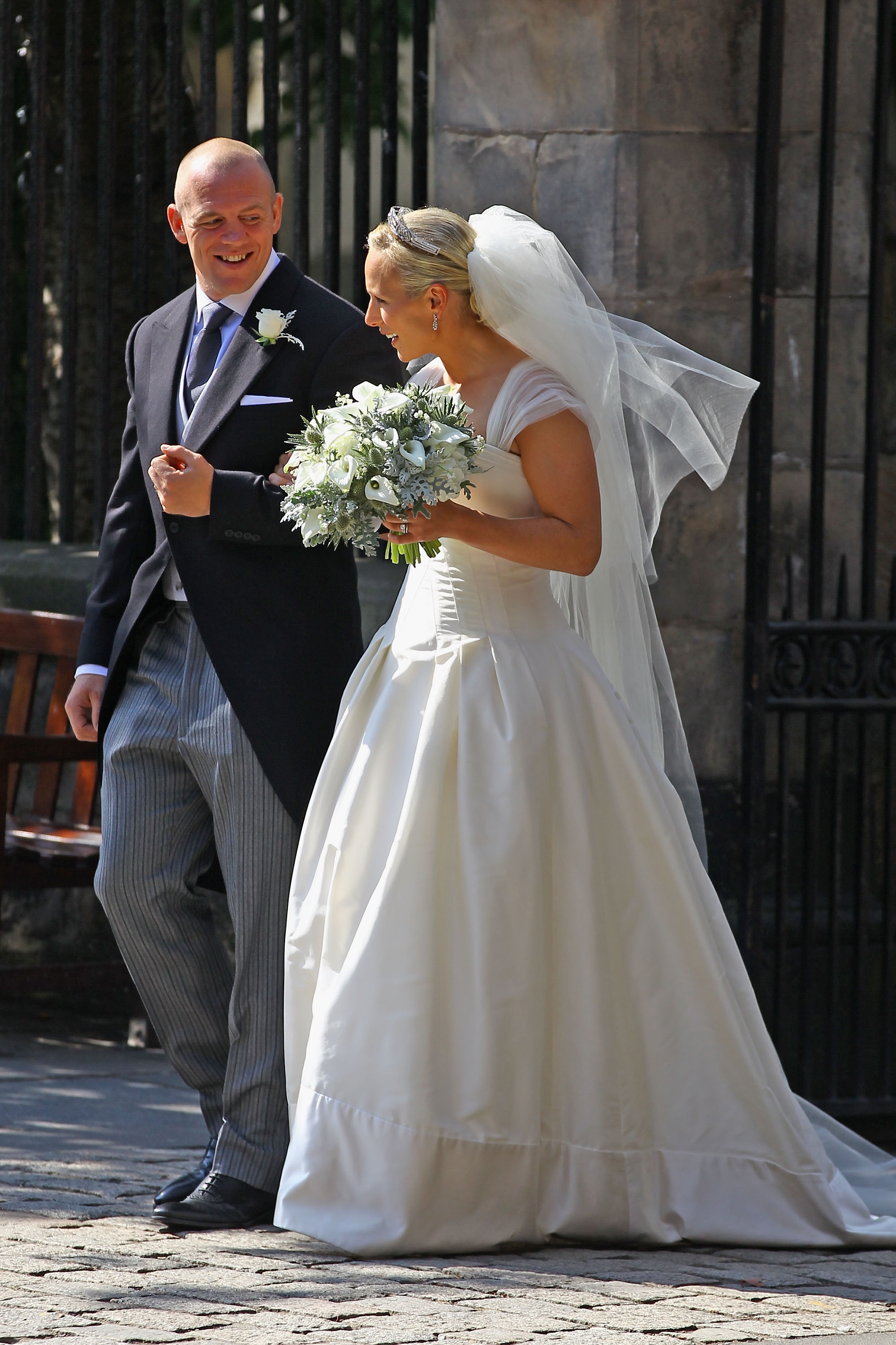 Pictures of Zara Phillips and Mike Tindall's Royal Wedding ...