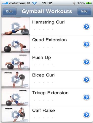 Gym Ball Workouts | Free iPad Apps Bring the Gym to You | POPSUGAR ...