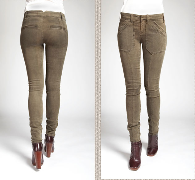 Military Legging in Bowery Olive, $198
