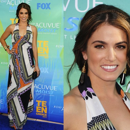 Nikki Reed in Etro at 2011 Teen Choice Awards 2011-08-07 17:50:43