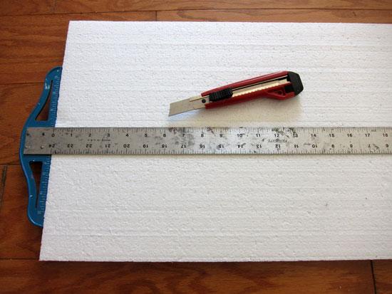 Cut Foam Board