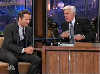 Video of Ryan Reynolds on The Tonight Show With Jay Leno Talking About Sex Scene With Olivia Wilde