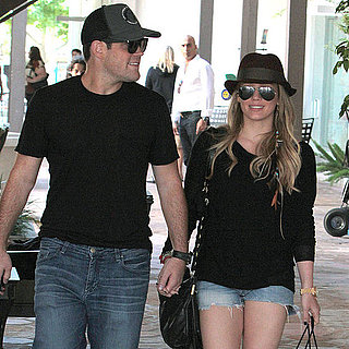 Hilary Duff Pregnant Pictures With Mike Comrie
