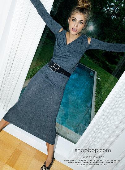 Shopbop Fall 2011 Ad Campaign - Elisa Sednaoui