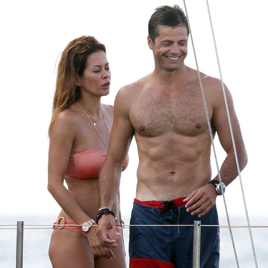 Brooke Burke Bikini Pictures With Shirtless David Charvet