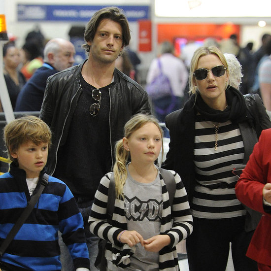 Pictures of Kate Winslet With Louis Dowler and Her Kids
