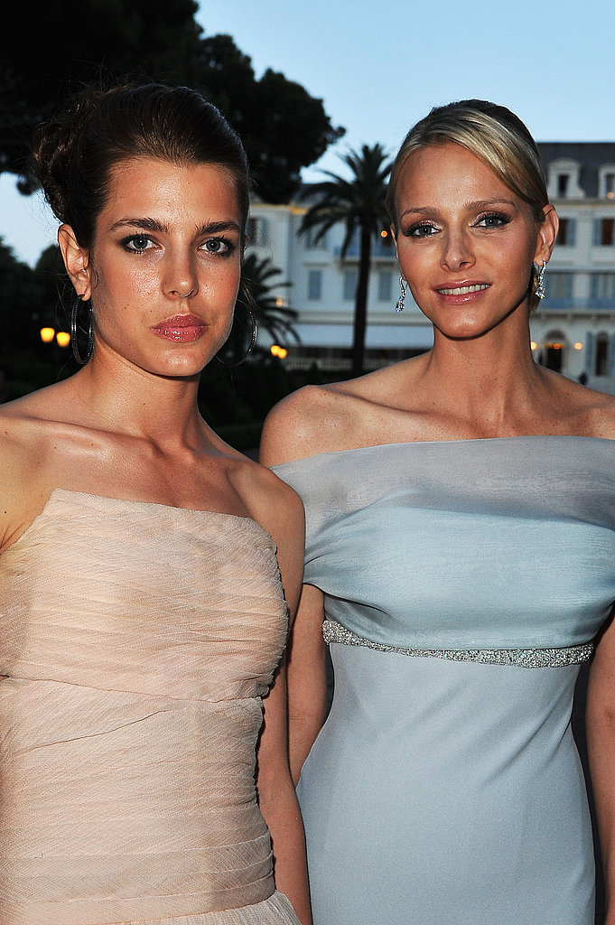In May 2011, Charlotte and Charlene posed at amfAR's Cinema Against AIDS Gala during the Cannes Film Festival.