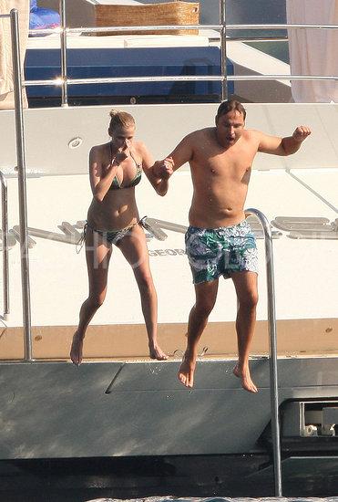 Lara Stone Bikini Pictures — in Saint Tropez