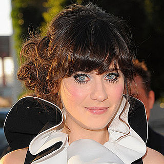 Zooey Deschanel's Doll Eyelashes 2011-08-17 11:20:00