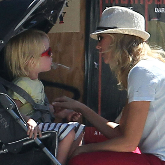 Naomi Watts Pictures at Pinkberry With Liev Schreiber, Sons