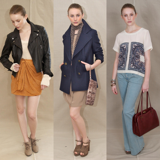 Club Monaco Shows Spring 2012 Collection: Layering, Mustard, Rust, Maxi Skirts...See What Else Will Be Hot For Summer!