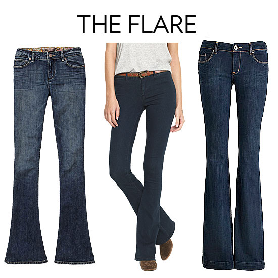 Flare/Bootcut Jeans | The Ultrasimple Guide to Choosing the Best Denim For Your Body | POPSUGAR ...