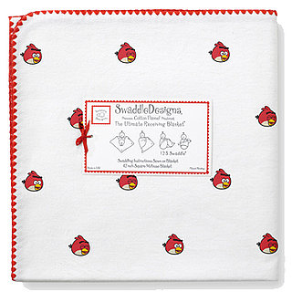 Angry Birds Swaddle Blankets and Baby Gear