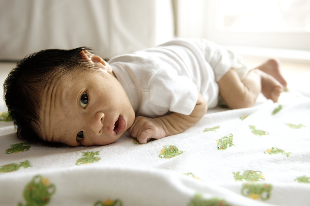 First Tummy Time