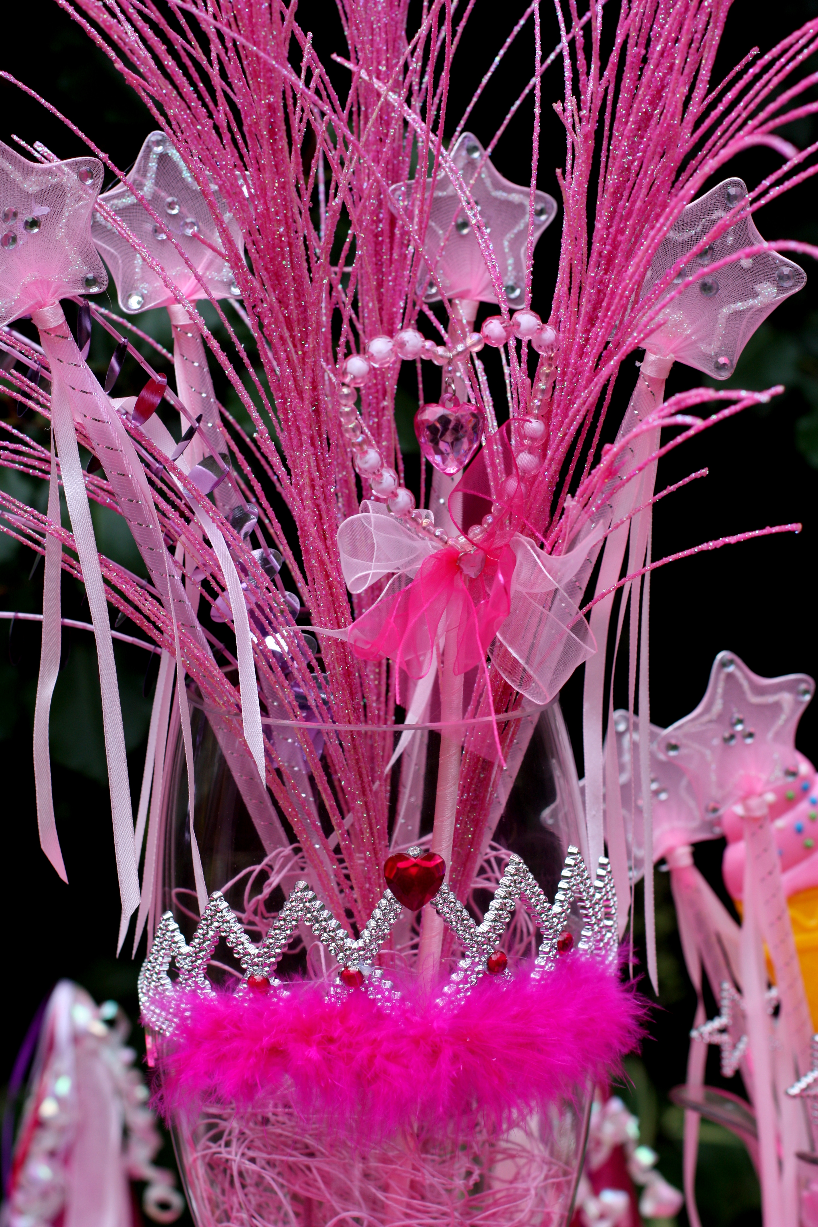 Princess Party Table Centerpiece