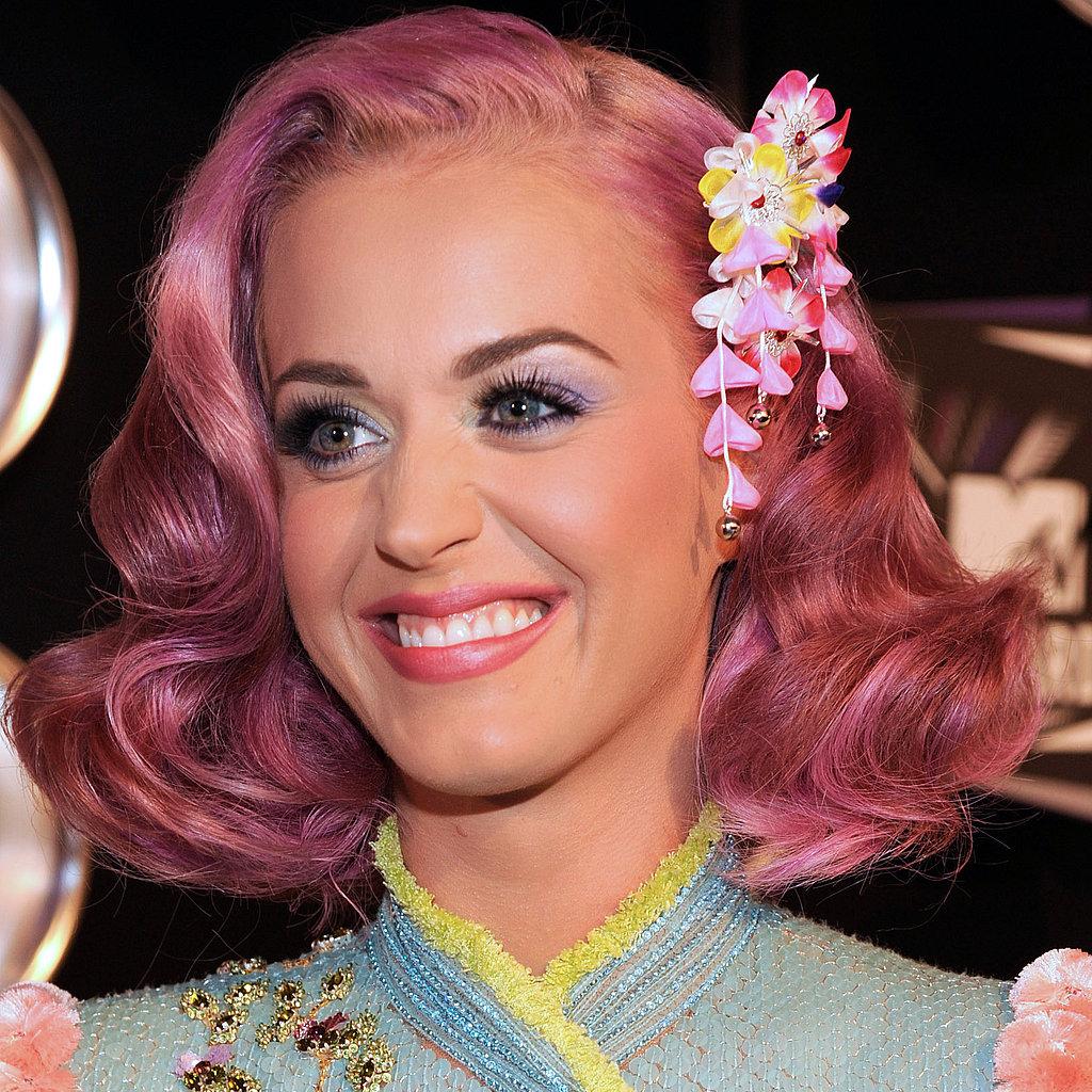 Katy Perry: Katy Perry Pink Hair At VMAs