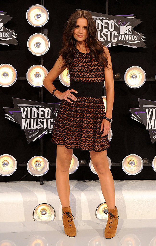 Katie Holmes at the MTV VMAs