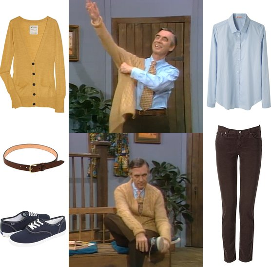 Mister Rogers Sneakers Dress Like Mister Rogers