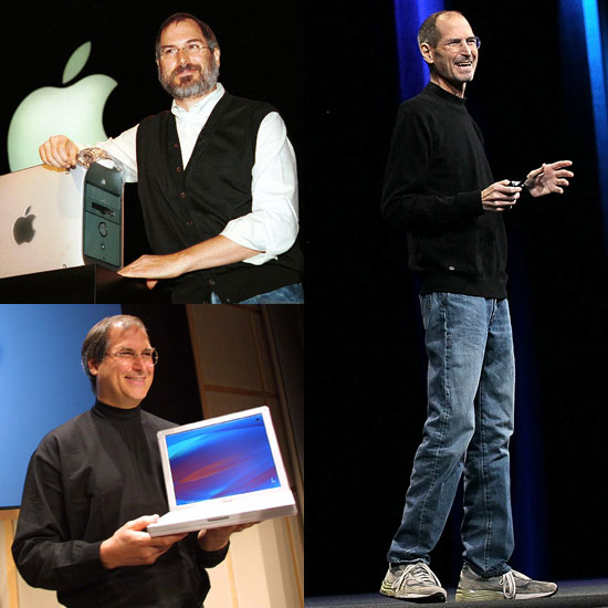 Photos of Steve Jobs Keynote Speech Throughout the Years