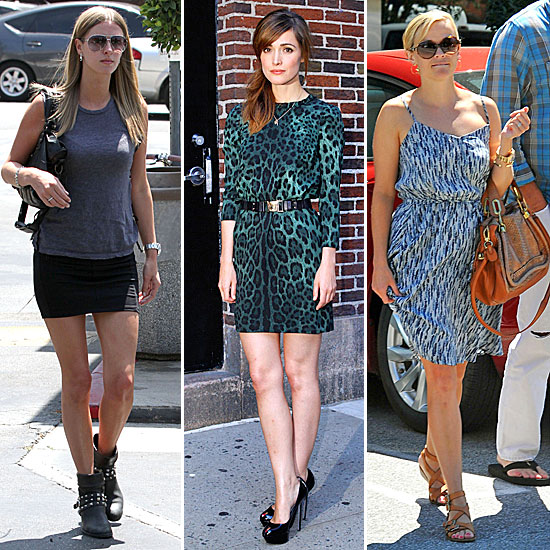 Celebrity Style Quiz For August 22-26, 2011