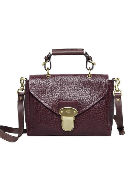 Mulberry Small Polly Push Lock Satchel ($1,050)