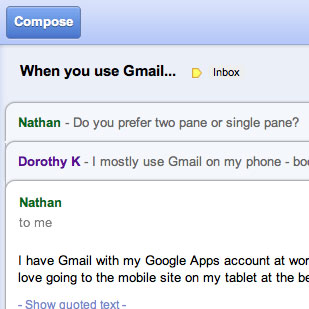 Gmail, Google Docs App For Offline Work