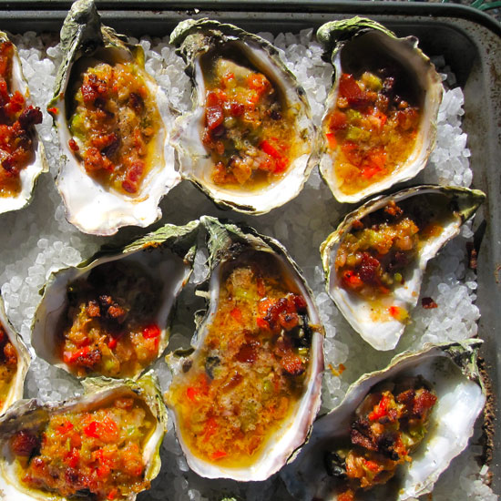 Easy Oysters Casino Recipe