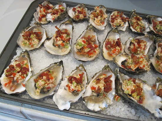 Oysters Casino