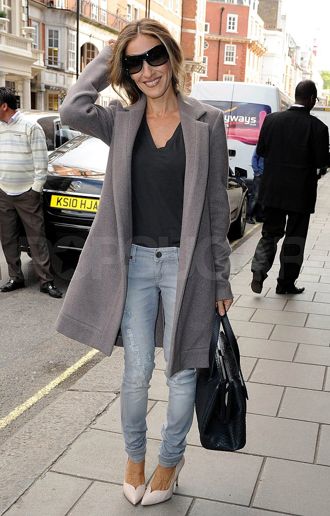 Sarah Jessica Parker poses in London.