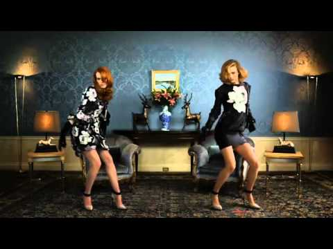 Raquel Zimmermann and Karen Elson Dance to Pitbull's I Know You Want Me (Calle Ocho) for Lanvin's 2011 Winter Campaign