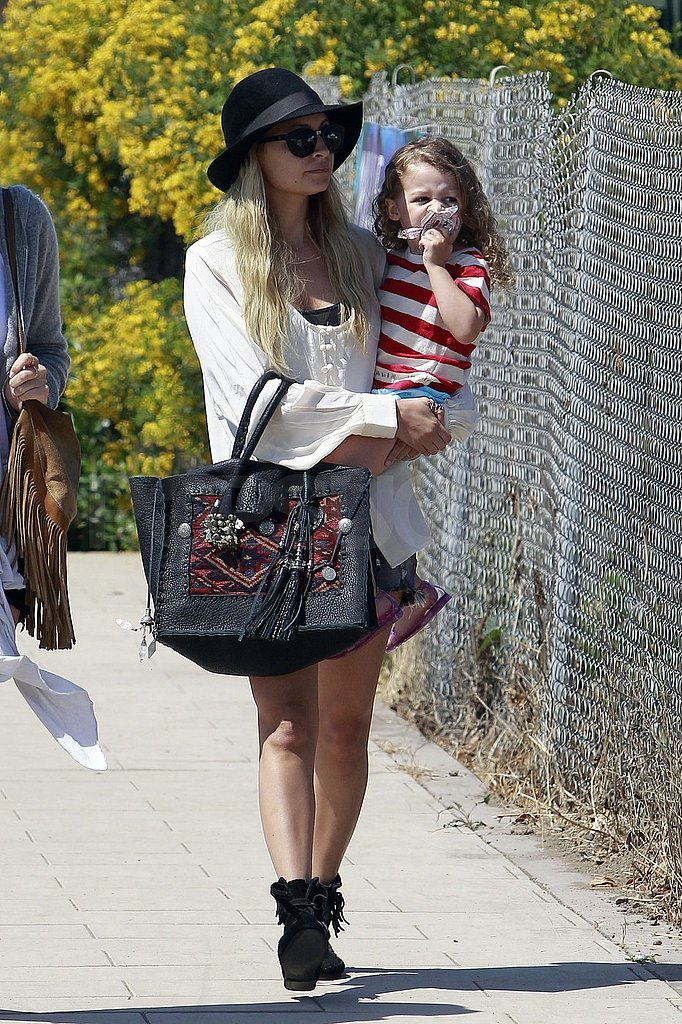 Harlow and Nicole stepped out together for a day date.