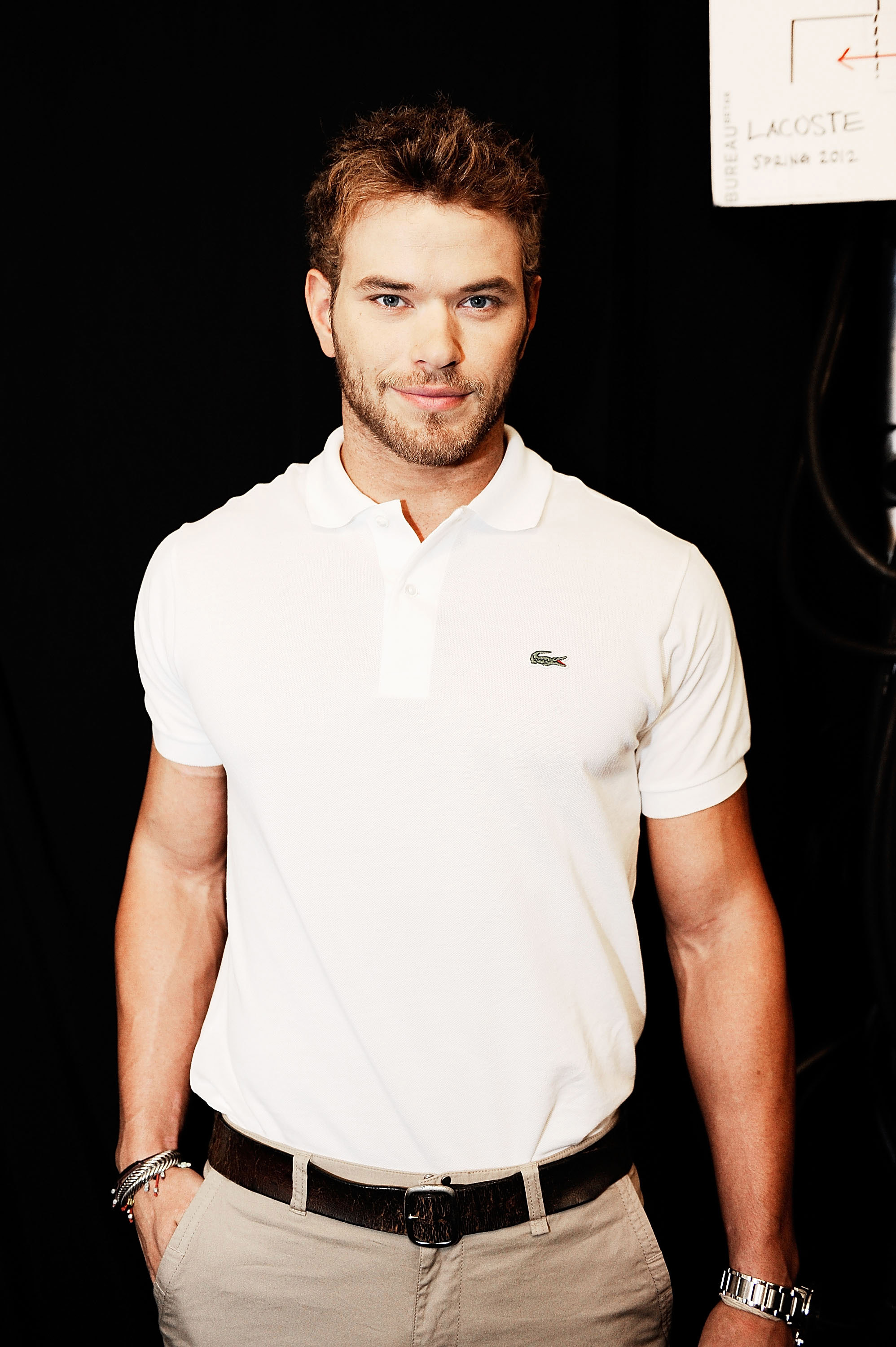 Kellan Lutz for Lacoste.