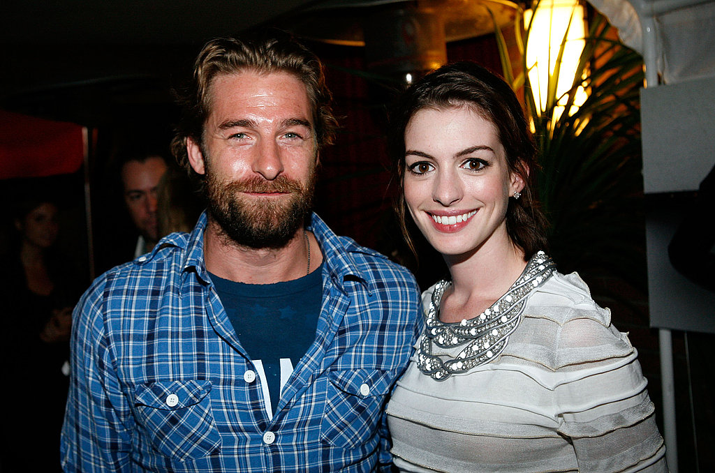 Scott Speedman and Anne Hathaway attended a TIFF dinner hosted by Sony in 2008.