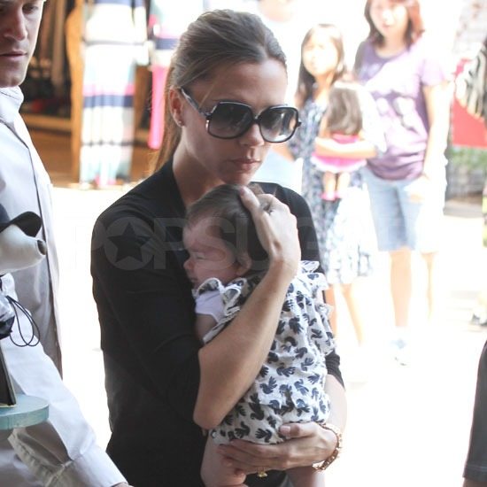 Victoria Beckham Takes Harper Seven Shopping in LA Pictures