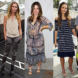 Sophia Bush and Erin Wasson at New York Fashion Week