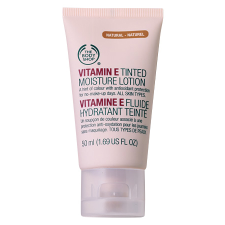 The Body Shop Vitamin E Tinted Moisturiser, $23.95