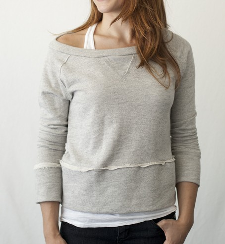 Heather Grey Women's Raglan ($50)