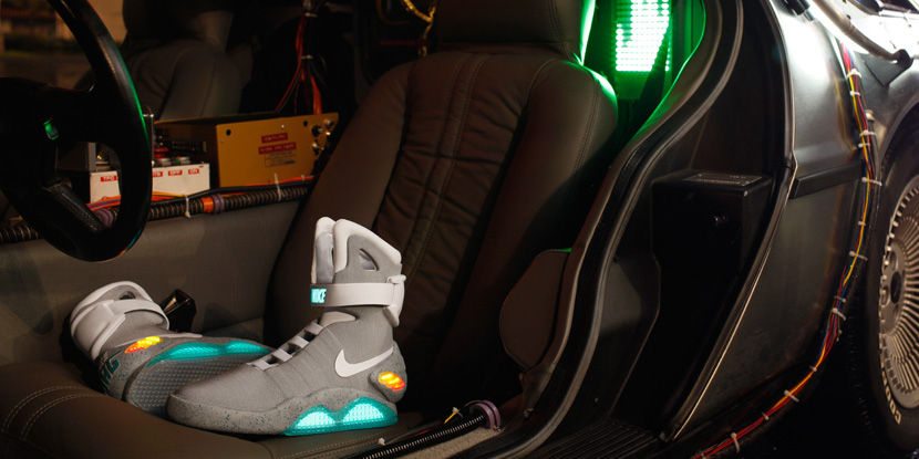 """More Pics of the Nike MAG """"Marty McFly Shoe"""""""