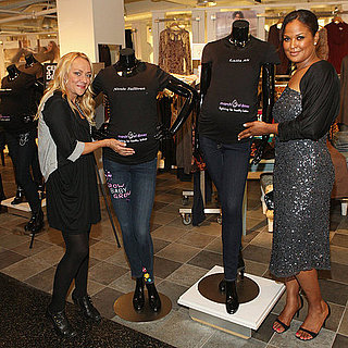 Celebrities at Destination Maternity For Fashion's Night Out