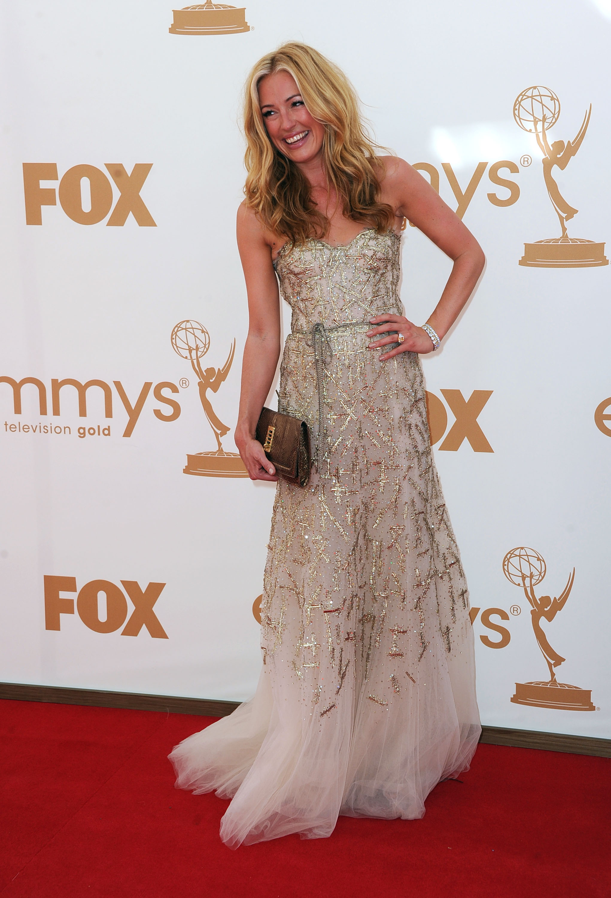 Cat Deeley at the Emmys.