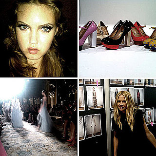 Pictures of Celebrities and Models on Twitter Sept. 13, 2011