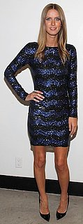 Nicky Hilton in Sequin Alice and Olivia Dress
