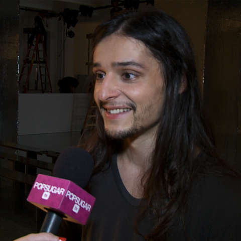 Backstage at Theyskens Theory With Designer Olivier Theyskens