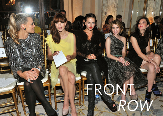 Pictures of Beyonce, Elle Fanning, Dakota Fanning and More Celebrities Front Row at New York Fashion Week