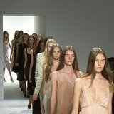 Calvin Klein Spring 2012 Runway Video
