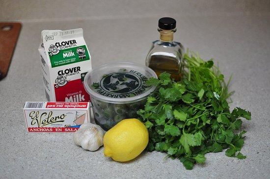 Green Olive Dip