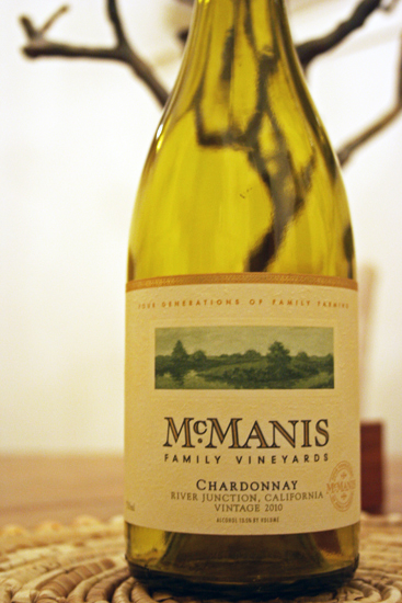 2010 McManis Family Vineyards Chardonnay