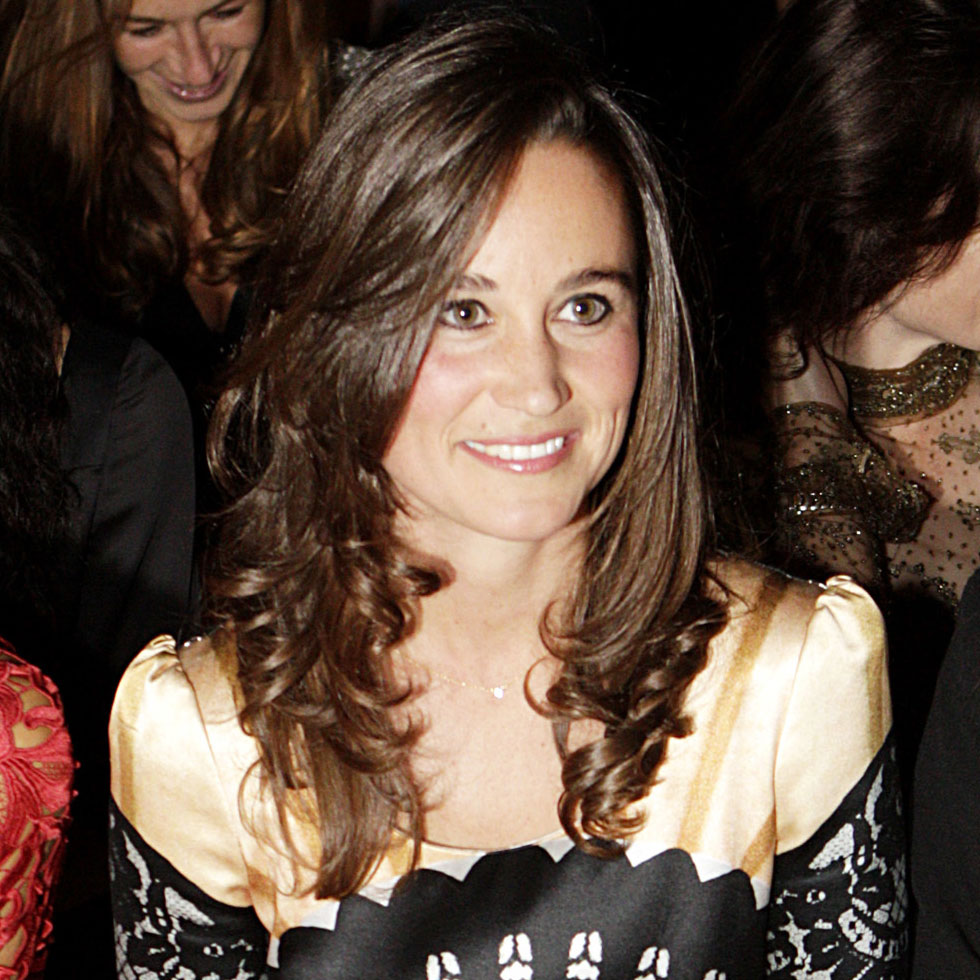 Pippa Middleton claimed a front-row seat.