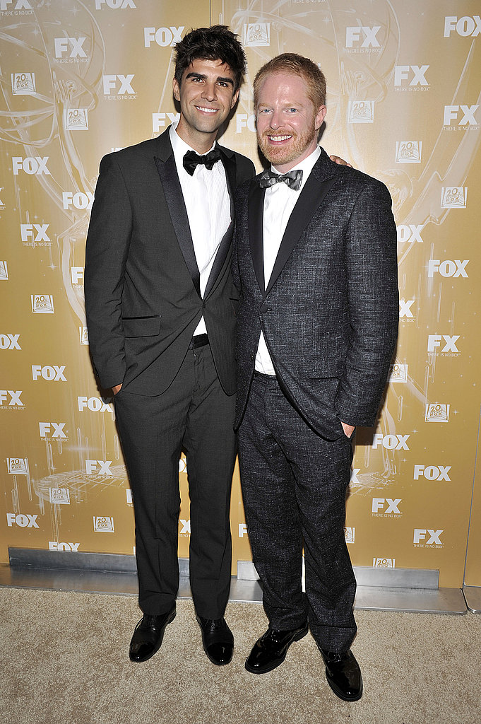 Jesse Tyler Ferguson and his boyfriend at the 2011 Fox Emmys bash.