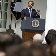 """Obama Says Tax Hikes For the Wealthy Are Not """"Class Warfare"""""""
